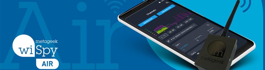 MetaGeek Wi-Spy Air blijvend in prijs verlaagd